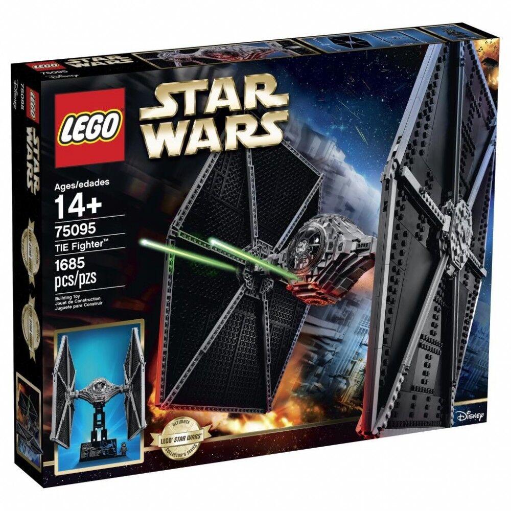 Star 75095 Fighter Ucs Neuf Et Tie Wars Scellé Nrvkow1805 Lego H9EI2WD