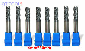 10mm 4 Flute End Mill Cutter Machine Tool Accessories for CNC Mold Processing
