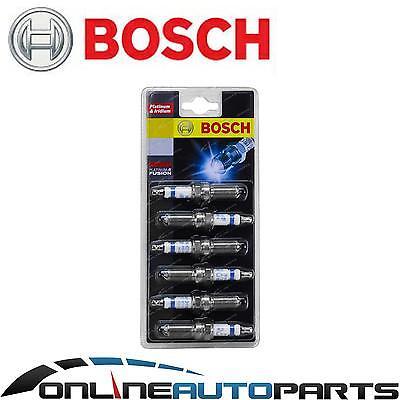 Bosch Iridium Spark Plug Set Mitsubishi Pajero NJ NK V6 3.5L 6G74-D4 1993~1997