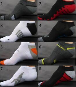 REEBOK-Men-Socks-Sz-10-13-Shoe-Sz-6-12-5-Low-Cut-Athletic-Sport-Crossfit-L-Large