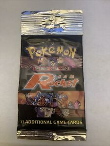 Pokemon Team Rocket Booster Pack EMPTY Artwork Only
