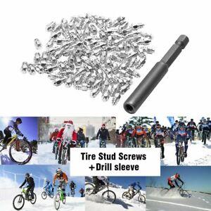 100pcs-Screw-in-Tire-Stud-Spikes-Racing-Track-Tire-Ice-Studs-Snowmobile-ATV-Car