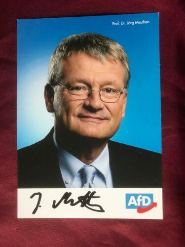 Autogramm JÖRG MEUTHEN-Alternative für Deutschland-AfD-handsigniert-Essen-AK