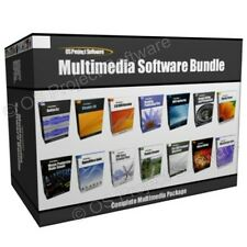 Multimedia Music Video Editing Website Design Software Program Bundle