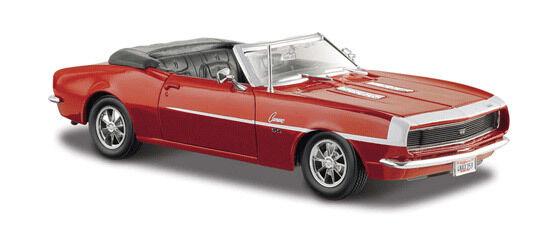 1968 Chevrolet Camaro Converdeible Converdeible Converdeible ss 396 Die Cast 1 24 Maisto Coleccionable Para Adultos d812ce