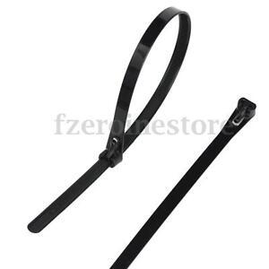 100X-Nylon-Plastico-liberable-Reutilizable-Bridas-Cremallera-Envolturas-30cm-Auto-bloqueo