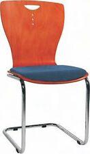 Stuhl, Freischwinger, mit Sitzpolster, in versch. Farben lieferbar, ex. Qualität