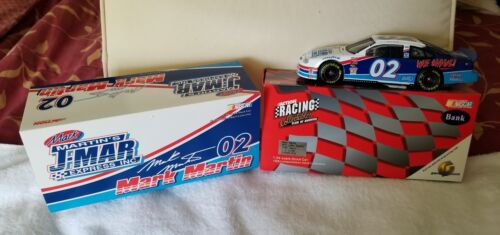 Action Mark Martin #02 JMar Express 1999 Taurus 124 Scale Coin Bank NIB