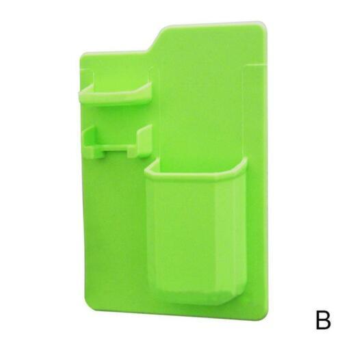 Silicone Brosse à Dents Rasoir Support Salle De Bain Miroir Toilette Organisateur cas utile