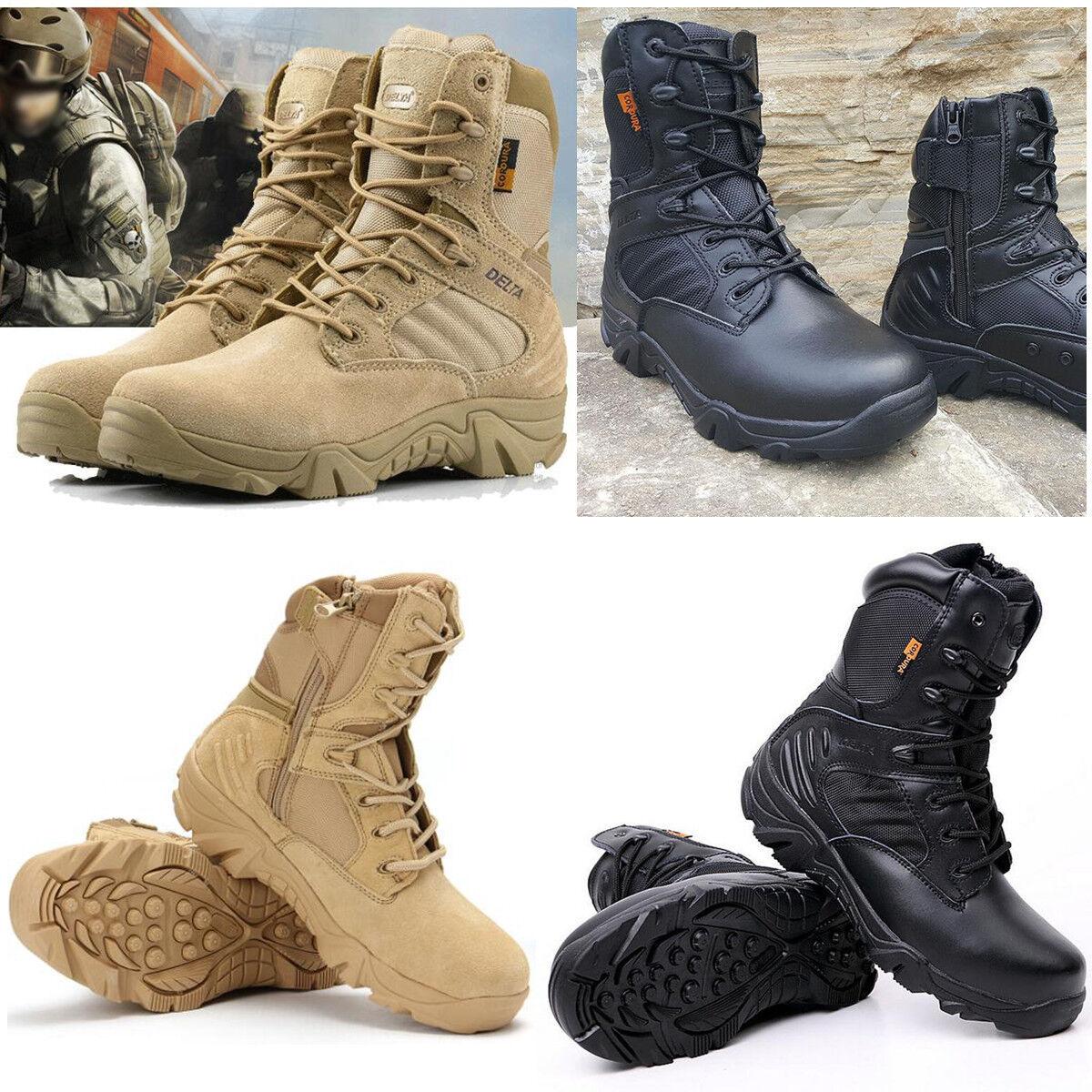 Tattica militare gli stivaletti cordura deserto lotta armata scarpe da trekking