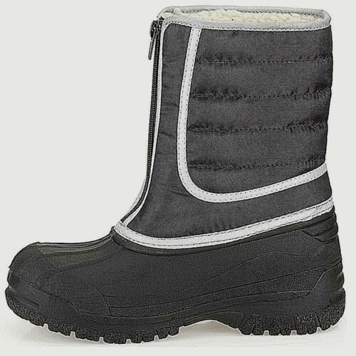 Clarks SNOW infant Boys Girls kids Teens Boots Wellies Black Winter WATERPROOF