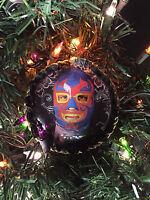 Lucha Libre Christmas Ornament