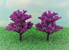 "Set of 2 Buy 3 Save $5 Miniature Fairy Garden 4.75/"" Med Green Trees//Shrubs"