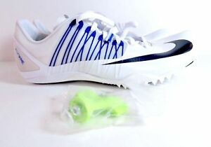 where can i buy online shop best price NIKE ZOOM CELAR 5 SPRINT TRACK SPIKES WHITE BLUE 629226-100 ...
