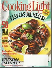 Cooking Light July 2012 Easy Casual Meals/Sliders/Po'boys/Kebabs/Cherry Desserts