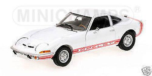 1:18 Minichamps - 1970 Opel Gt/J in Bianco