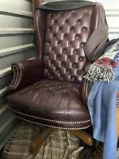 Highback Leather Office Chair