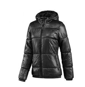 Details zu Adidas Originals Damen Winterjacke Steppjacke Jacke mit Kapuze schwarz 32 - 42