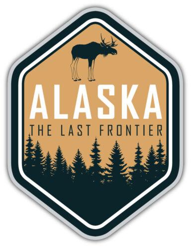 Alaska USA State Vintage Emblem Car Bumper Sticker Decal /'/'SIZES/'/'