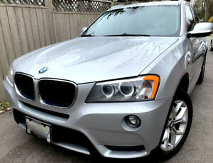 2013 X3 28I, 4CYL, FIRST OWNER, PERFECT MECHANICAL, NO ACCIDENT