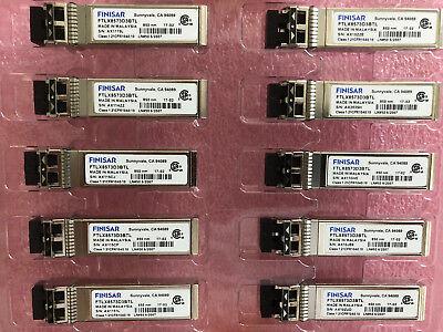 Lot of 36 New Finisar FTLF8524P2BNL 4Gb 850nm SW MMF Mini-GBIC Datecode:1135