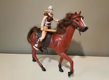 Sungold Galaxy Adventure Girl YFELE & Horse Mount - 1985 - Vintage Action Figure