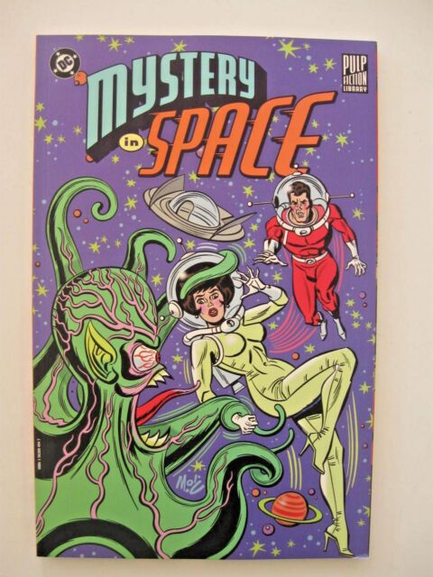 Pulp Fiction Library Mystery In Space By Edmond Hamilton And Gardner Fox 1999 Paperback Revised