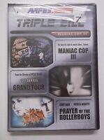 Maniac Cop Iii , Grand Tour, Prayer Of The Rollerboys Dvd Triple Bill Aafes