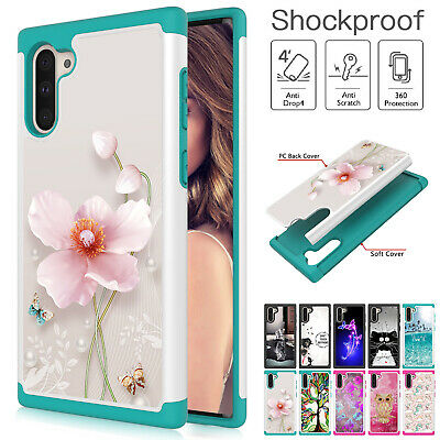 For Samsung Galaxy Note 10 Plus Note10 Hybrid Rubber Phone Case Shockproof Cover Ebay