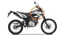 """Yamaha WR 125 R """"Tank-Aufkleber rechte Seite"""" weiß"""