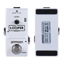 Loop Electric Guitar Effect Pedal Looper True Bypass Unlimited Overdubs F5X1