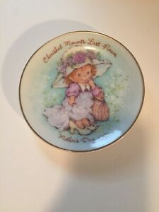 Avon-Cherished-Moments-Mother-039-s-Day-Plate