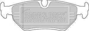 Borg-amp-Beck-Plaquette-de-Frein-a-Disque-Set-Coussinets-BBP1556-Original