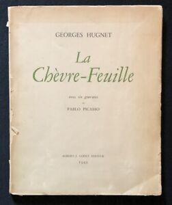 Georges Hugnet, La Chevre-Feuille, 1943, sechs Zinkographien von Pablo Picasso