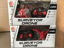 (((AS-IS))) LOT OF 2 RADIOSHACK SURVEYOR DRONE (( AS IS ))