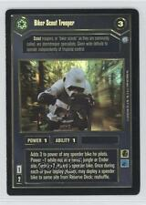 1999 Star Wars Customizable Card Game: Endor #NoN Biker Scout Trooper Gaming c2s