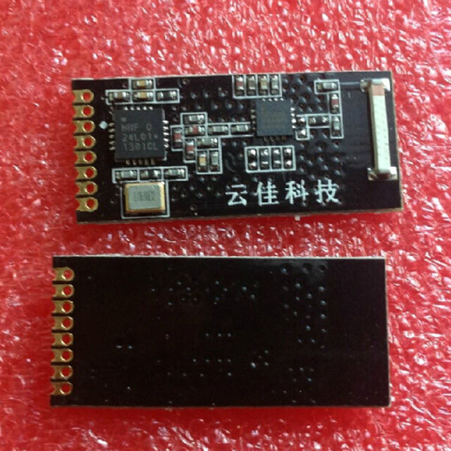 1Pcs 2.4G NRF24L01+PA+LNA Wireless Module+Ceramic Antenna 1.27mm 2.2-3.6V