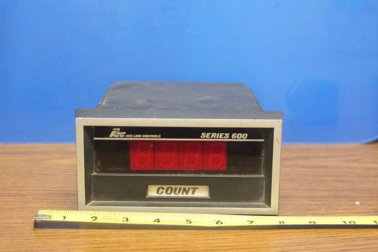 Red Lion Model 600 Series Multipliers Digital Rate Indicator