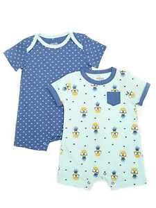55fd10dd6 Image is loading Chick-Pea-Infant-Boys-Pineapple-Sunglasses-Baby-Romper-