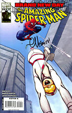 THE AMAZING SPIDER-MAN #559 SIGNED BY ARTIST ED McGUINNESS