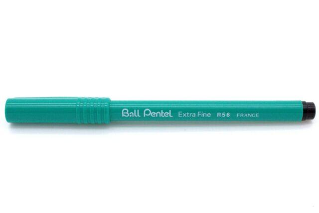 Pentel Tintenroller Ball Pentel R56 schwarz