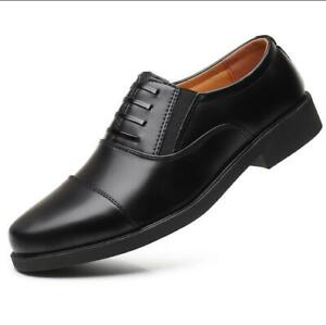 Men-039-s-Casual-Leather-Shoes-Lace-Up-Dress-Formal-Business-Oxford-Classic-Loafers