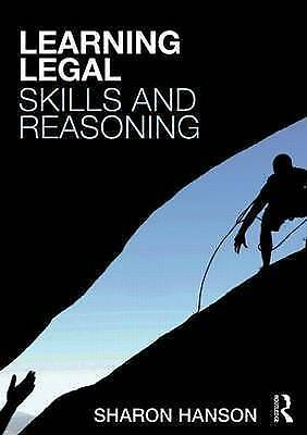 1 of 1 - Learning Legal Skills and Reasoning, Hanson, Sharon, Used; Very Good Book