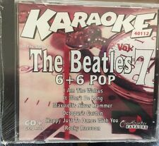 CHARTBUSTER 6+6 KARAOKE DISC 40112 THE BEATLES VOL 7 CD+G POP MULTIPLEX SEALED
