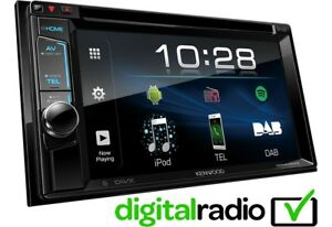 Details about Kenwood DDX4018DAB Double Din Car Stereo USB AUX iPhone  Android Inc DAB Aerial