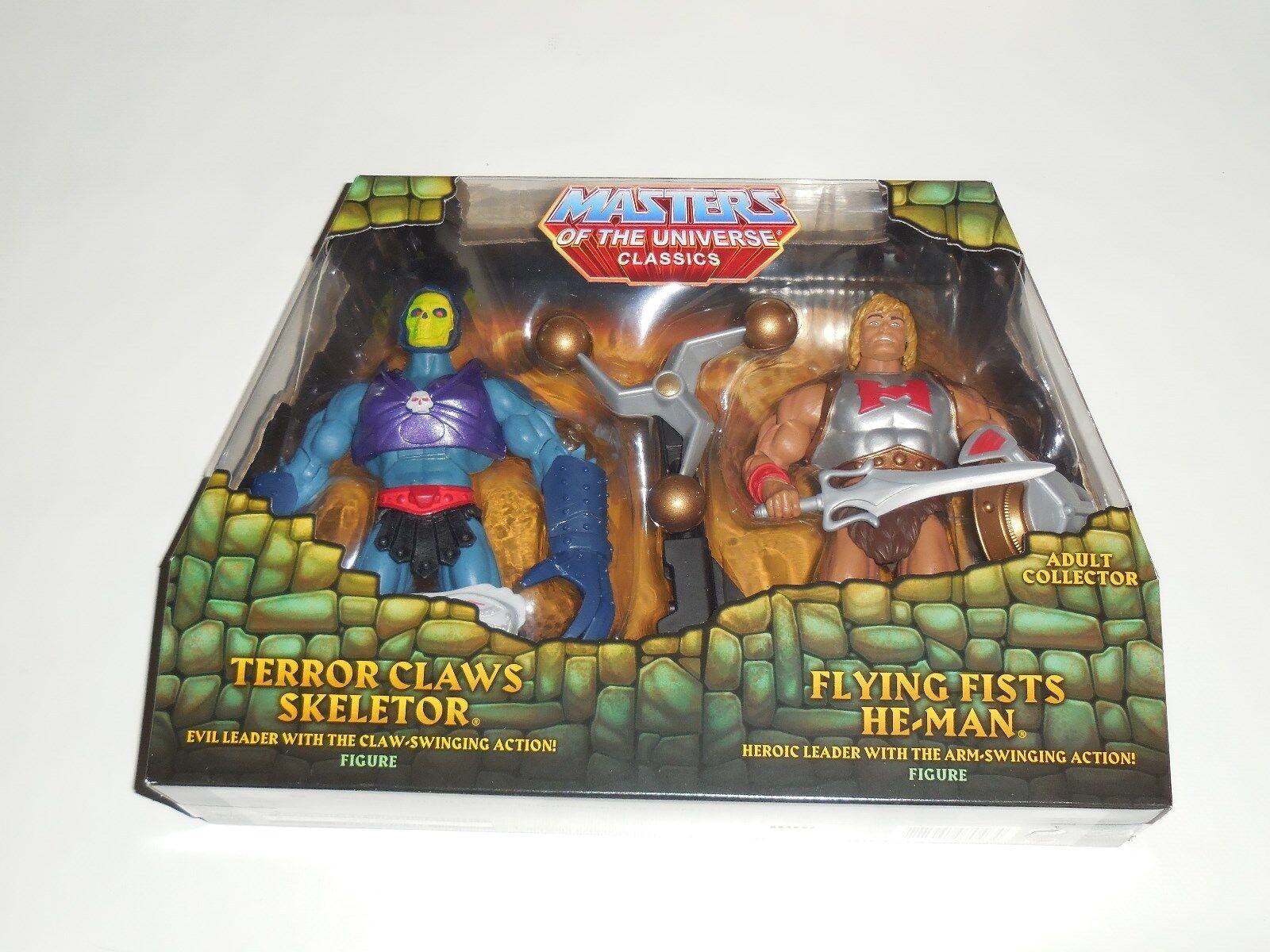 TERROR CLAWS Skeletor FLYING FIST He-man MATTEL Store EXCLUSIVE MOTUC