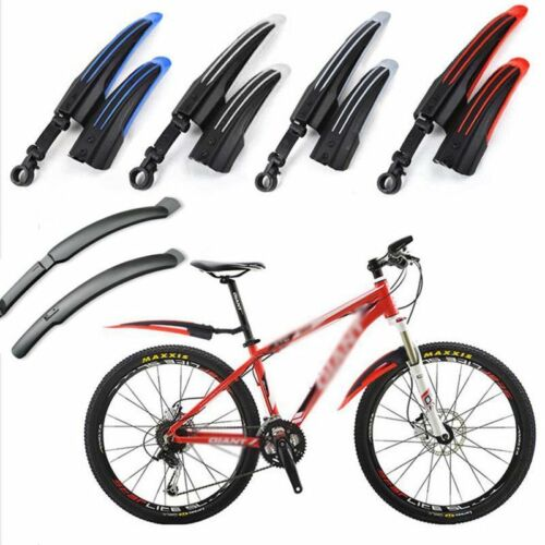 Mountain MTB Bike Mudguards Bicycle Cycle Fender Front /& Rear Mud Guard