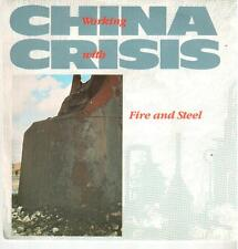 """<2808-03> 7"""" Single: China Crisis - Working With Fire And Steel"""