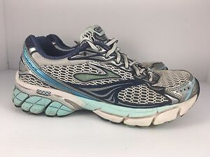 White + Blue Athletic Running Shoes J31