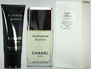 Chanel Platinum Egoiste 3.4 oz. Vaporisator  2.5 oz. After Shave ... 8cc51c6ee5ec